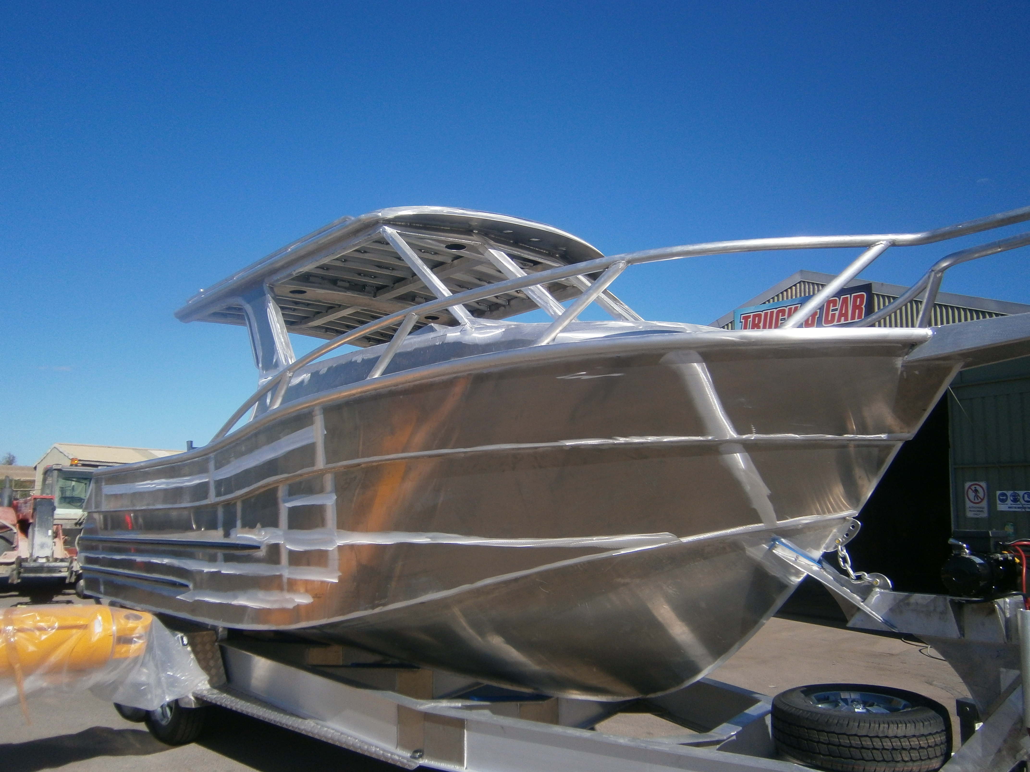 Outlaw boats - before