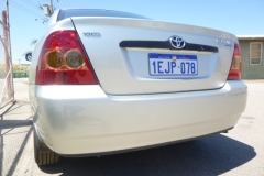 Rear bumper - after