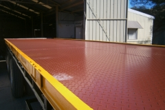 Flat deck trailer - after